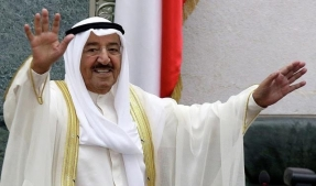Emir of Kuwait Sabah Al-Ahmad Al-Sabah has visited Russia within 9 -11 November upon the invitation of Russian President Vladimir Putin
