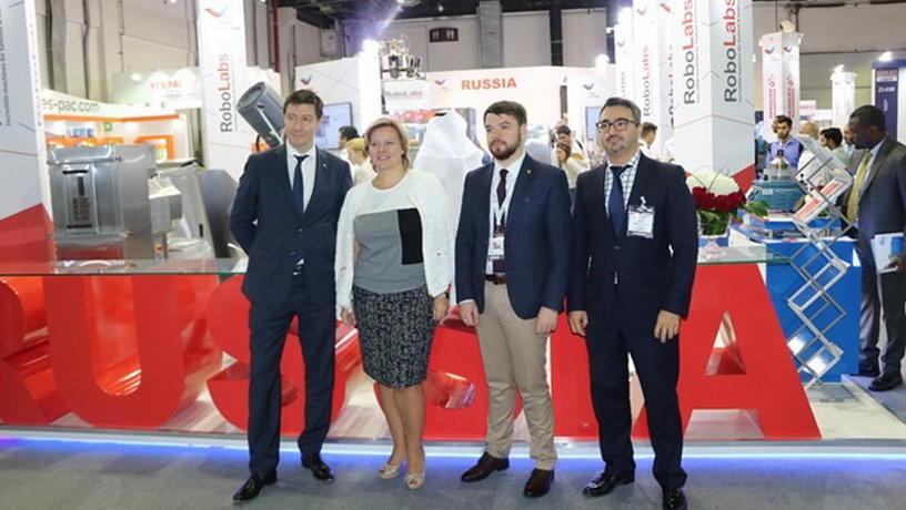 Российский павильон открыт на выставке Gulfood Manufacturing 2017 в Дубае