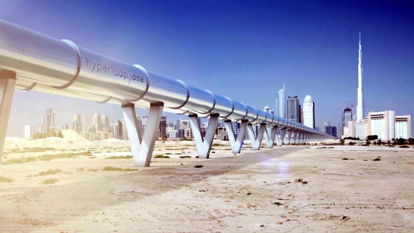 Инвесторы из России и ОАЭ вложили US$ 50 млн в проект Hyperloop