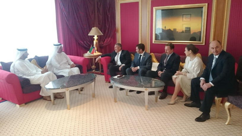 Татарстан и Арабские Эмираты договорились о развитии исламской экономики